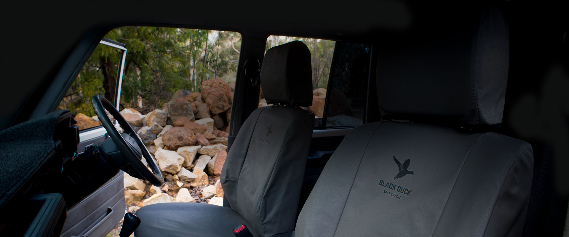 Black Duck seat covers